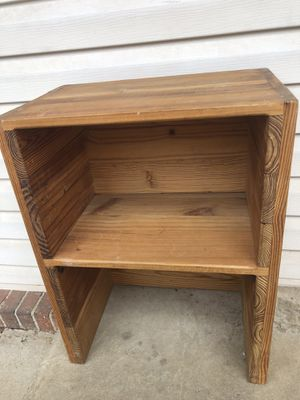 Solid wood bookshelf bookcase for Sale in Sterling, VA