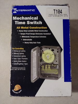 Intermatic T104 Mechanical Time Switch for Sale in Las Vegas, NV