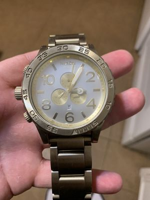 Nixon gold Chrono 51-30 great condition for Sale in Lubbock, TX