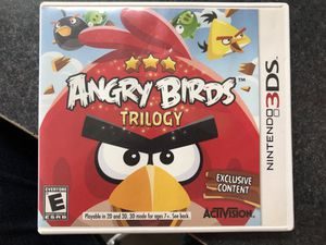 Angry Birds Trilogy Nintendo 3DS Game - Used for Sale in Griswold, CT