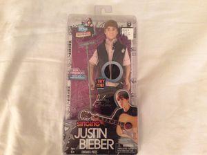 Justin Bieber Boyfriend 30cm Singing Doll & Microphone Stand for Sale in Mesa, AZ
