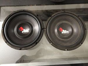 ROCKFORD FOSGATE PUNCH 12 SUBWOOFERS OBO for Sale in Oklahoma City, OK
