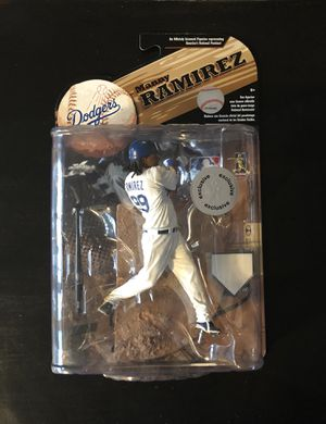 2009 Manny Ramirez Los Angeles Dodgers MLB Baseball Mcfarlane Action Figure Toys R Us Exclusive BRAND NEW for Sale in Citrus Heights, CA