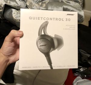 🎧BOSE wireless Quiet CONTROL 30 NEW! Noise cancelling!!🤹‍♂️ for Sale in Bellevue, WA