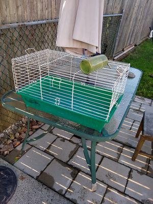 Cage - bird or small pet - with water bottle/holder for Sale in Woodbridge Township, NJ