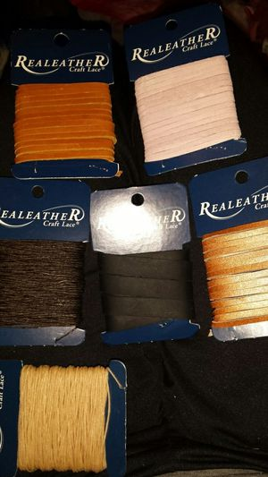Real leather craft lace lot for Sale in Lakewood, WA