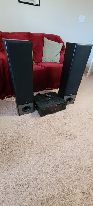 KLH Audio System, 2 Speakers and Receiver for Sale in Lewisville, TX