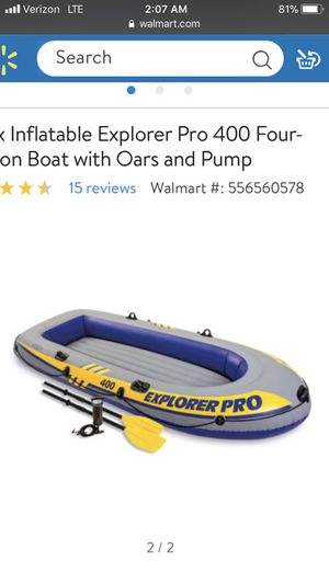 Inflatable boat for Sale in Orlando, FL
