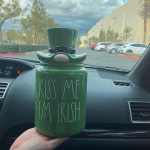 Rae Dunn KISS Me I'm Irish for Sale in Covina, CA