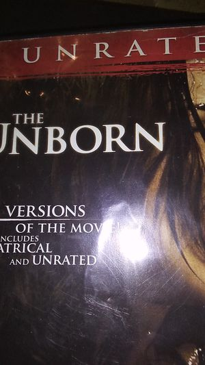 The unborn DVD great condition for Sale in Sprouses Corner, VA