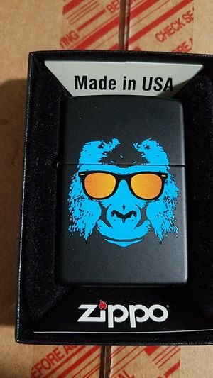 Zippo ape with shades black matte 28861 for Sale in Los Angeles, CA