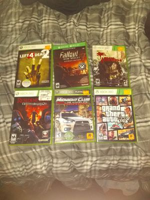 Xbox 360 games for Sale in Chesaning, MI
