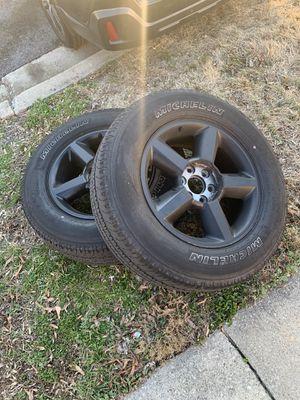 Tahoe wheels for Sale in Hyattsville, MD