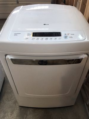 LG GAS DRYER and TOP LOAD washer set for Sale in Lolo, MT