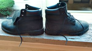 Timberland black size 5 suede boots for Sale in Columbus, OH