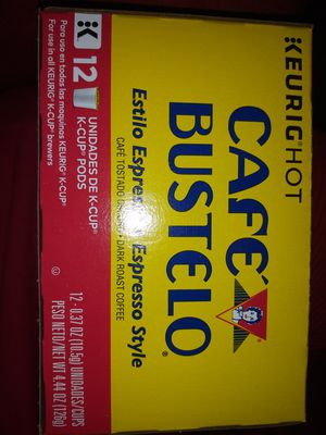 CAFE BUSTELO K CUPS for Sale in Akron, OH