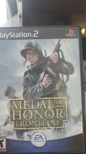 Medal of Honor Frontline PS2 for Sale in Miami, FL
