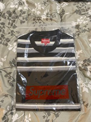 Supreme blocked stripe S/S top for Sale in Bowie, MD