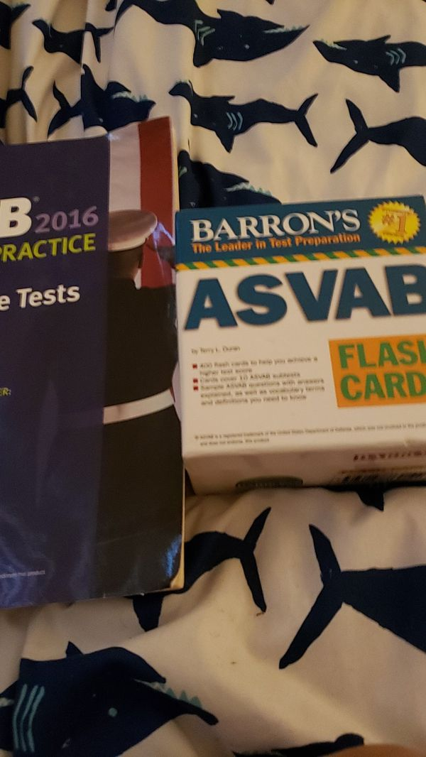 Asvab cards and book