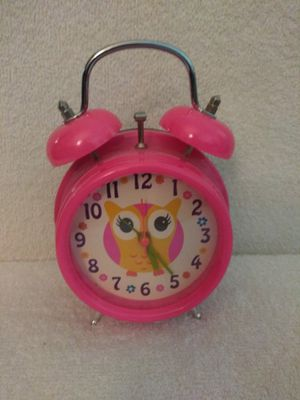 Owl - Alarm Clock, Pink for Sale in Simi Valley, CA