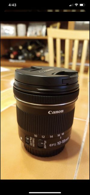 Canon EF-S 10-18 mm for Sale in Delray Beach, FL