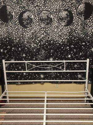 White Queen Metal Bed Frame for Sale in Oklahoma City, OK