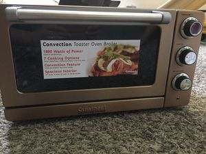 Cuisinart copper toaster oven broiler for Sale in Tampa, FL