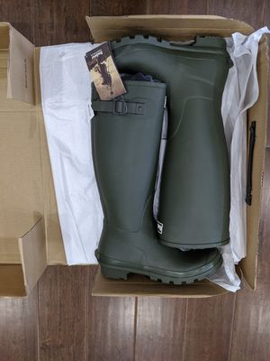 Barbour Bede Tall Rubber Boots Men's Size 9 for Sale in South Riding, VA
