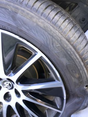 """Two 19"""" highlander tires with some read on them. for Sale in Santa Ana, CA"""