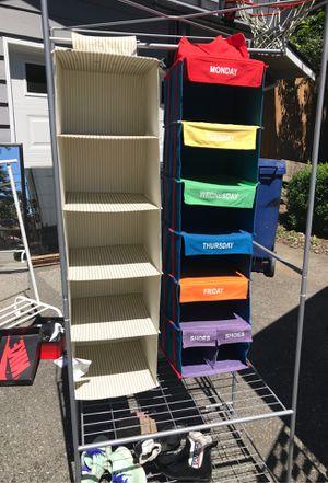 Closet organizer for Sale in Everett, WA