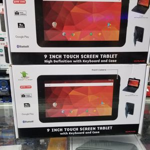 "9"" SCREEN ANDROID TABLET DUAL CAMERAS AND BLUETOOTH. KEYBOARD CASE INCLUDED LIKE NOTEBOOK. BRAND NEW SEALED BOX for Sale in Los Angeles, CA"