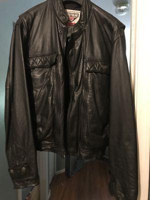 First Gear Leather Motorcycle jacket for Sale in Phoenix, AZ