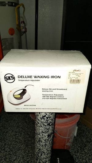 SKS Deluxe Waxing Iron Snowboard or Ski for Sale in City of Industry, CA