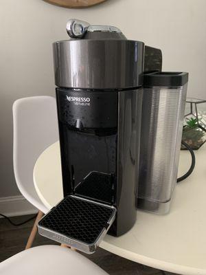 Nespresso GCC1-US-BK-NE VertuoLine Evoluo Deluxe Coffee and Espresso Maker, Black for Sale in Atlanta, GA