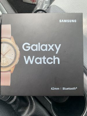 Samsung galaxy 42mm rose gold smart watch for Sale in Jacksonville, FL