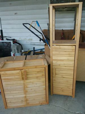 Nice bathroom furniture 2 pc. Bb&b for Sale in Virginia Beach, VA