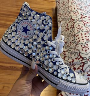 Bedazzled converse for Sale in Pennsauken Township, NJ