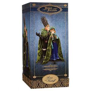 Disney Exclusive Limited Edition Frozen Fairytale Designer Collection Anna and Kristoff Doll Set for Sale in North Miami Beach, FL