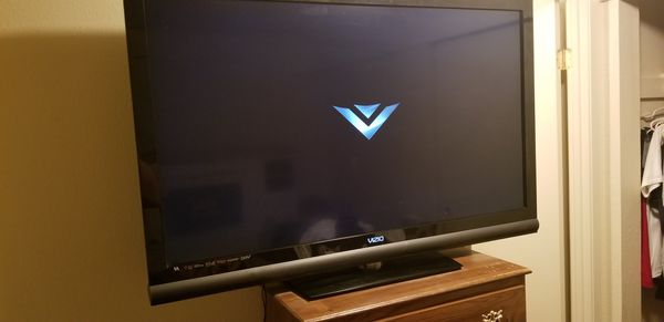 55in Vizio works perfect good picture no remote control you don't need remote control to work the TV though but you can always buy a universal remote