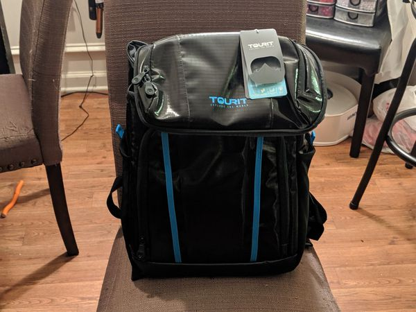 Tourist backpack cooler