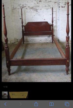 Henkel Harris Full Size Solid Black Cherry Bed for Sale in Warrenton, VA