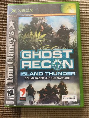 XBOX 360 Video Game / Island Thunder Ghost Recon - Tom Clancy's / Visit for more games ! for Sale in Alexandria, VA