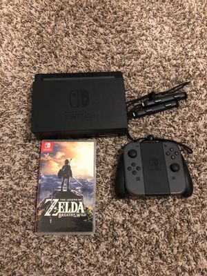 Nintendo Switch with Zelda BOTW for Sale in Fort Worth, TX