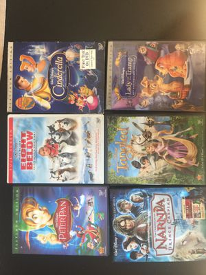 Walt Disney DVD's for Sale in Houston, TX