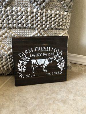 Farmhouse sign $8 each for Sale in Wildomar, CA