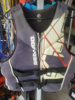 ADULT LARGE Life Jacket, some fading but good condition for Sale in Riverside, CA