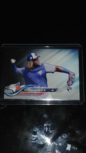 2018 Vladimir Guerrero Jr RC Baseball Card for Sale in Whittier, CA