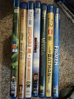 DVDs only except Antman (3D bluray only). (24 dvds, 1 3DBluray, 2 show seasons) for Sale in St. Petersburg, FL