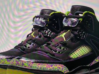Jordan Spizikes- Purple And Lime for Sale in Seattle,  WA