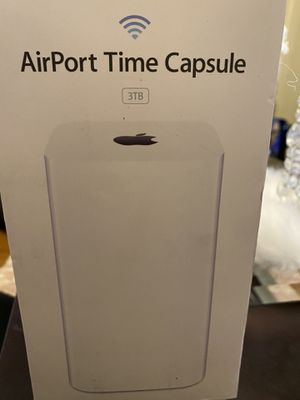 Apple time capsule 3tb for Sale in Methuen, MA